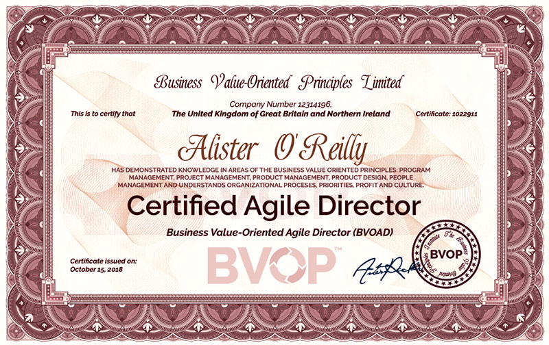 Agile Director certification | Certified Agile Director