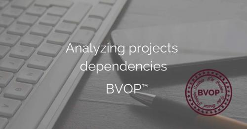 Project dependency analysis in Project and Program Management