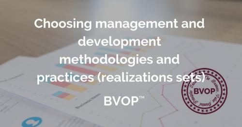 Choosing project management and development methodologies