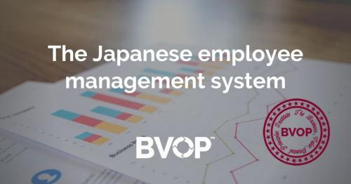 The Japanese employee management system
