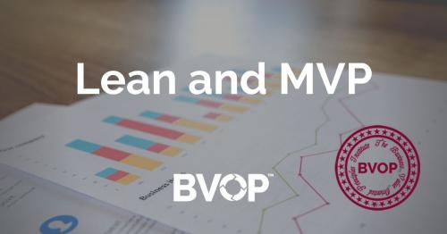 What are Lean and MVP in Agile product development? Lean thinking