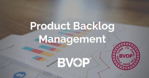Product Backlog management activities, techniques and approaches