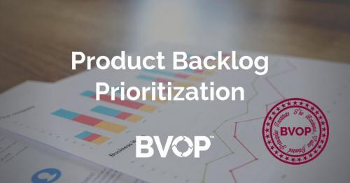 Product Backlog Items Prioritization
