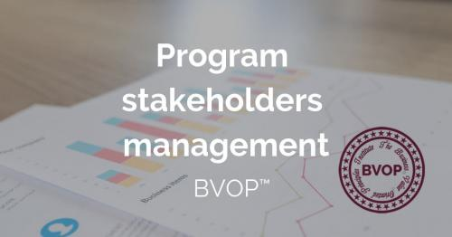 Program stakeholder management: identifying and analyzing stakeholders