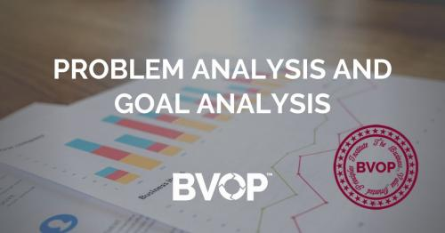 Problem analysis and goal analysis in infrastructure project management